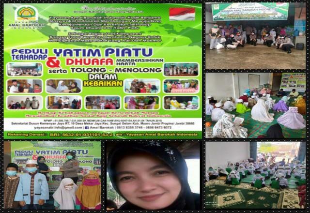 Kegiatan Amal Barokah Indonesia.