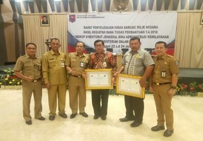 Kepulauan Meranti mendapat apresiasi dari Direktorat Jenderal BAK.