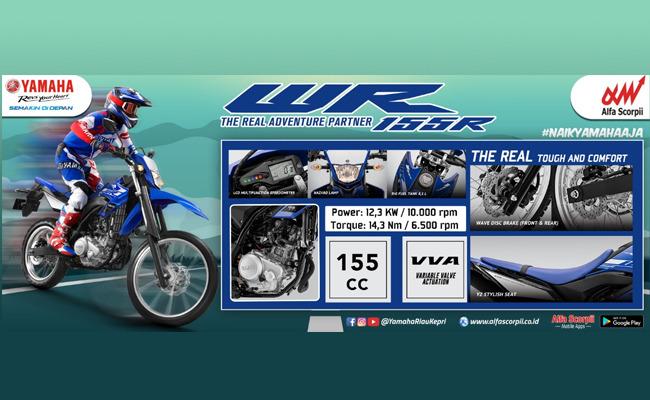 Yamaha WR 155