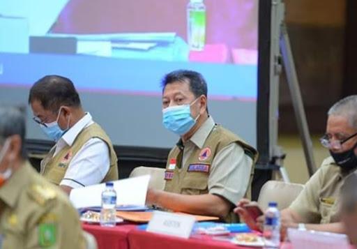 Kepala Badan Penanggulangan Bencana Daerah (BPBD) Riau, Edwar Sanger