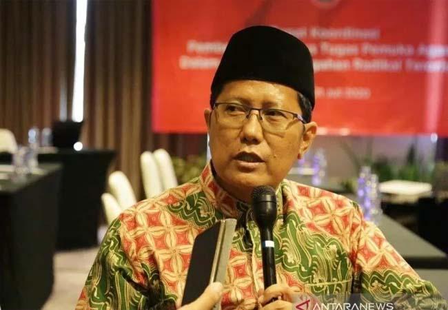 Ketua Majelis Ulama Indonesia (MUI) Pusat M Cholil Nafis