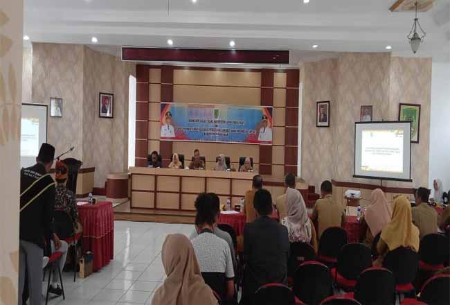 Workshop gugus anak Kabupaten Layak anak (KLA) sekaligus melakukan rapat pembentukan Assosiasi Pengusaha Sahabat Anak Indonesia (APSAI).