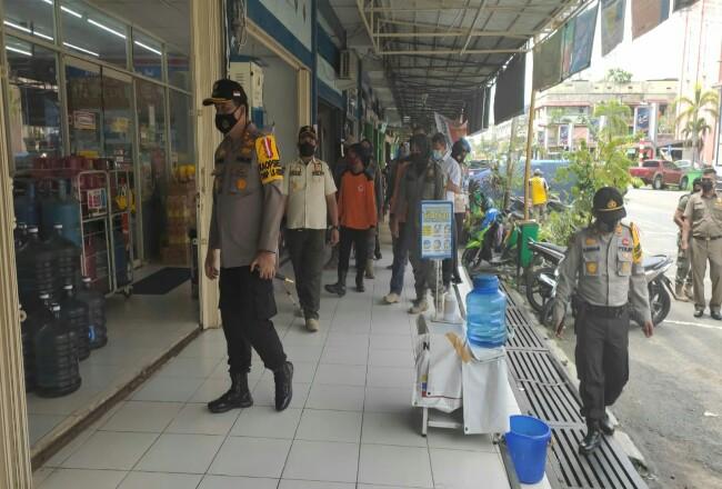 Operasi Yustisi penegakan protokol kesehatan gencar dilakukan di Inhu.