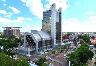 Menara Bank Riau Kepri.