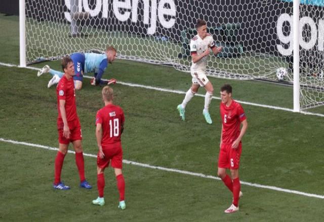 Belgia berhasil mengalahkan Denmark 2-1 di matchday kedua Grup B Euro 2020. Foto: Detik