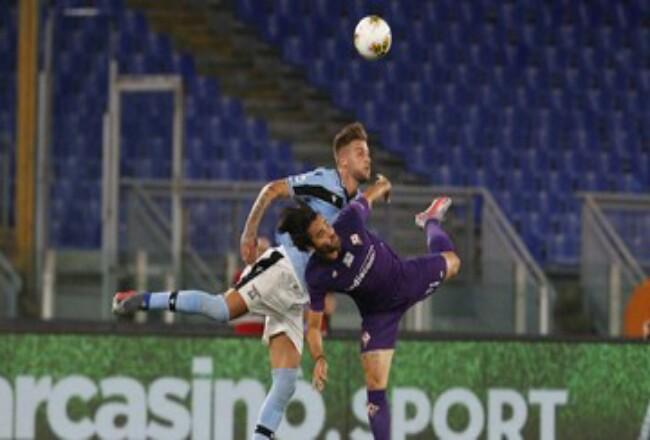 Lazio kalahkan Fiorentina 2-1 di Stadion Olimpico. Foto: CNNIndonesia