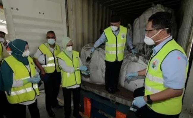 Temuan limbah beracun di Malaysia.