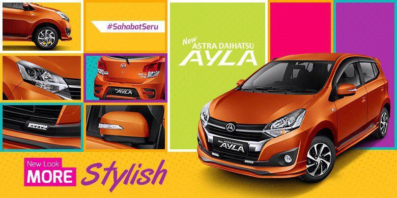 New Daihatsu Ayla