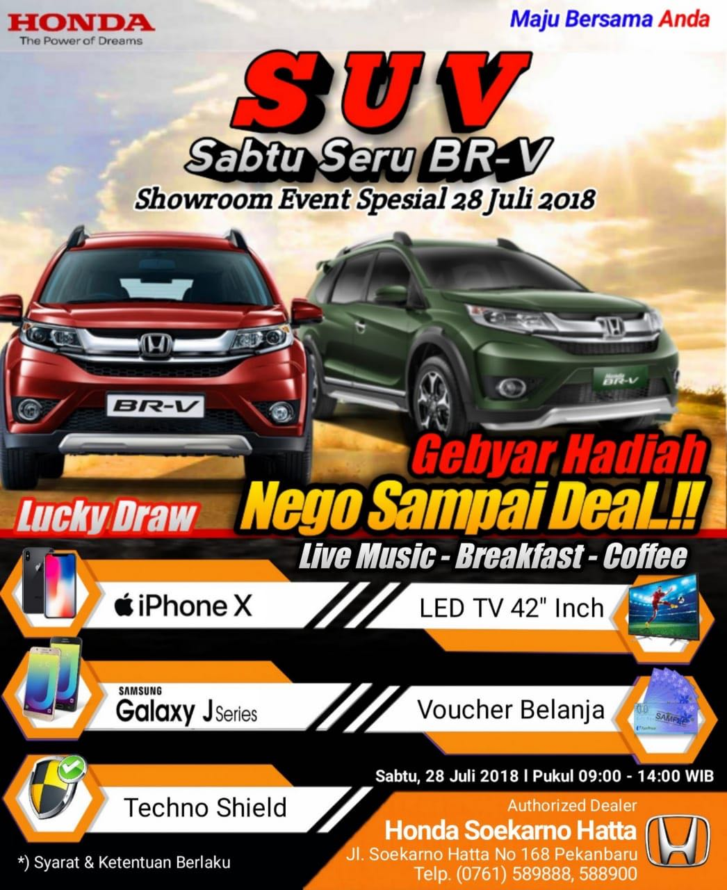 Ilustrasi - Showroom Event Special HSH