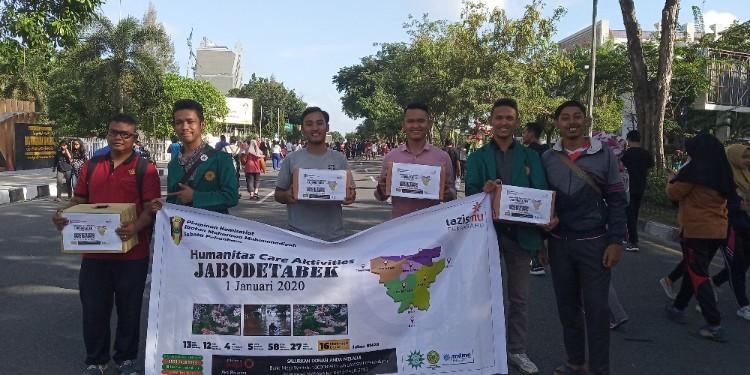 IMM se-Kota Pekanbaru himpun donasi di area CFD.