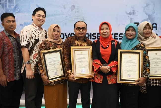 PT RAPP menerima penghargaan Gerakan Pekerja Perempuan Sehat Produktif (GP2SP) dari Kemenkes RI.