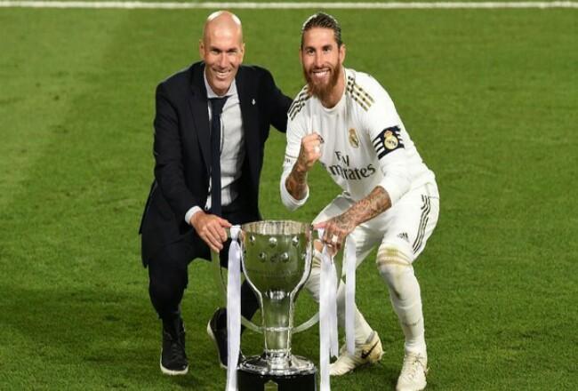 Real Madrid dinobatkan sebagai juara Liga Spanyol 2019/2020.