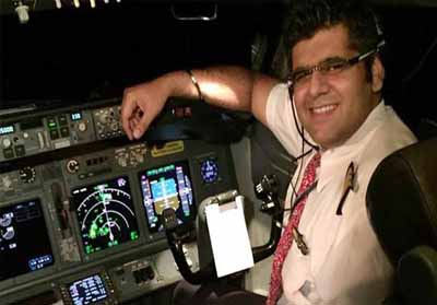 Sosok Pilot Bhavye Suneja.