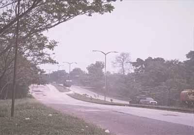 Asap selimuti Kota Dumai, status udara berbahaya.