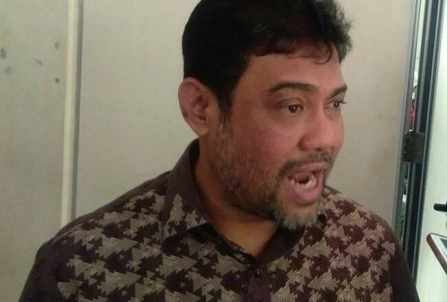 Said Iqbal usai konfrensi pers mengenai penolakan omnibus law, di Jakarta. Foto: Kompas