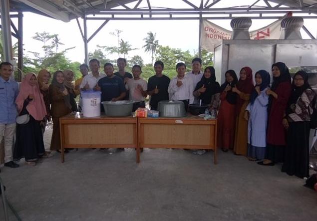 Pelatihan pembuatan tepung keladi ungu di BPPSI Pekanbaru dengan 10 orang peserta dari petani keladi Kabupaten Rokan Hilir.