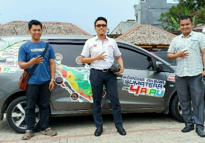 Kopdar Sumatera IV komunitas pengguna Honda Mobilio.