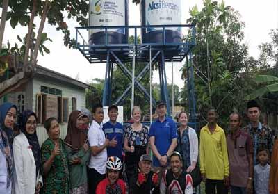 Aksi Bersama Indonesia meresmikan Air Baik