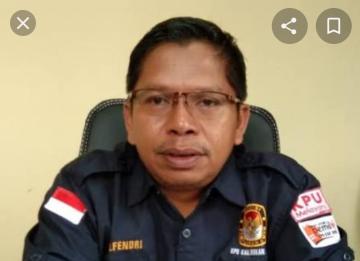 Ketua KPU Rohul Elfendri.