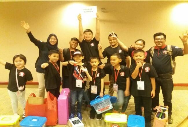 Team Robotclub Sumatera.