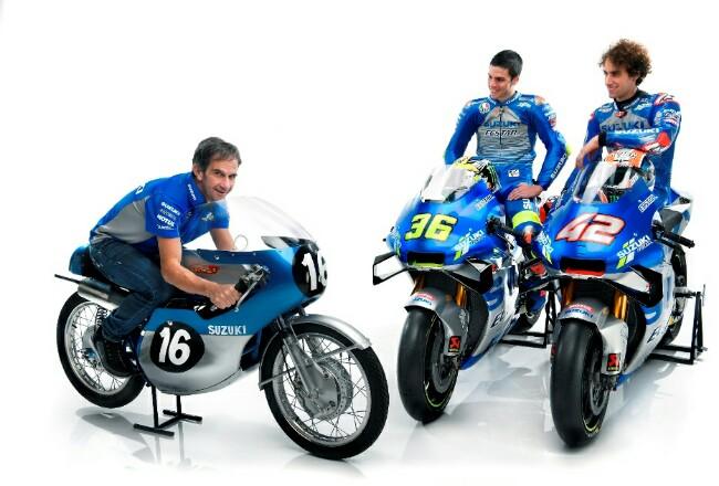 Team Suzuki Ecstar MotoGP 2020.