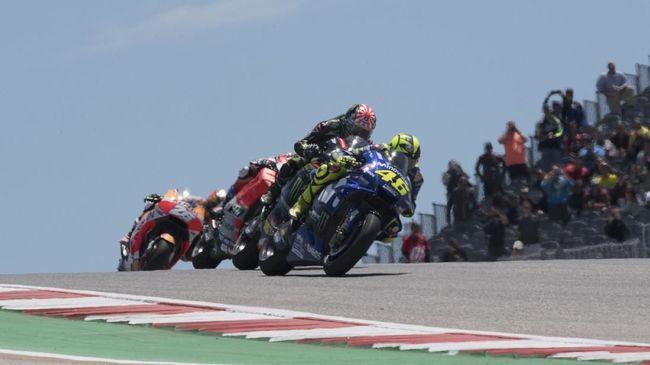 MotoGP Amerika Serikat 2020 ditunda ke bulan November. (Getty Images/Getty Images/AFP)