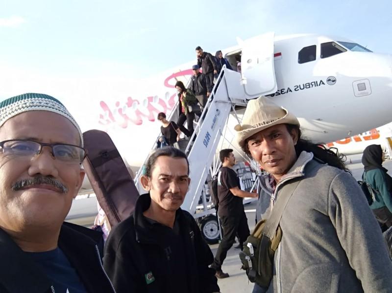 Perjalanan menuju Palu.