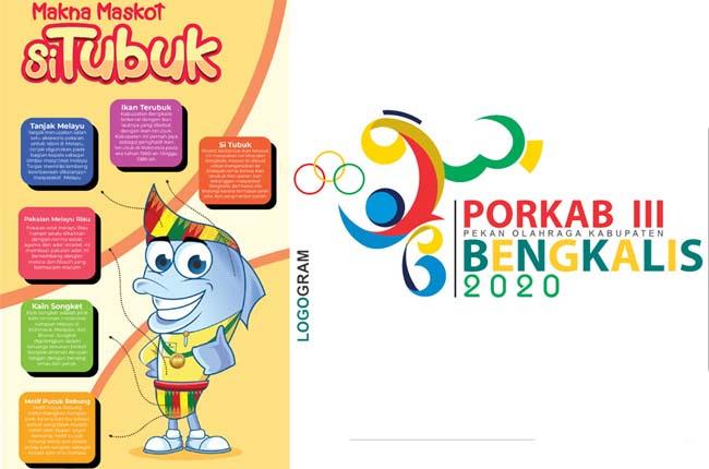 Logo dan Maskot Porkab Bengkalis.