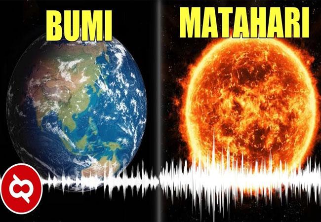 Bumi mengeluarkan suara mirip degungan yang diduga para ahli sebagai tanda lahirnya gunung baru.