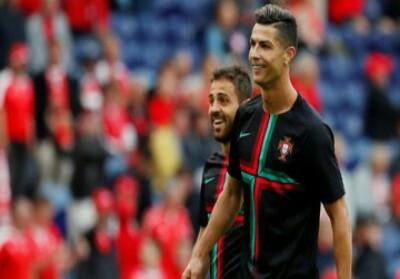 Cristiano Ronaldo diklaim tidak bahagia Bernardo Silva jadi pemain terbaik.