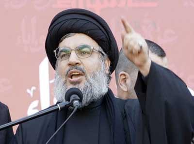 Pemimpin Hizbullah Hassan Nasrallah.