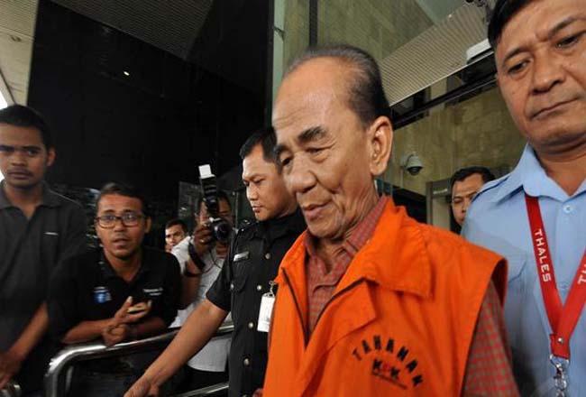 Mantan Gubernur Riau Annas Maamun.