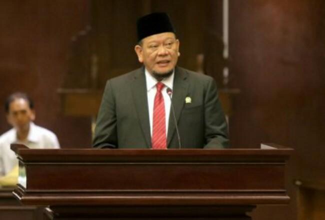Ketua DPD RI Lanyalla