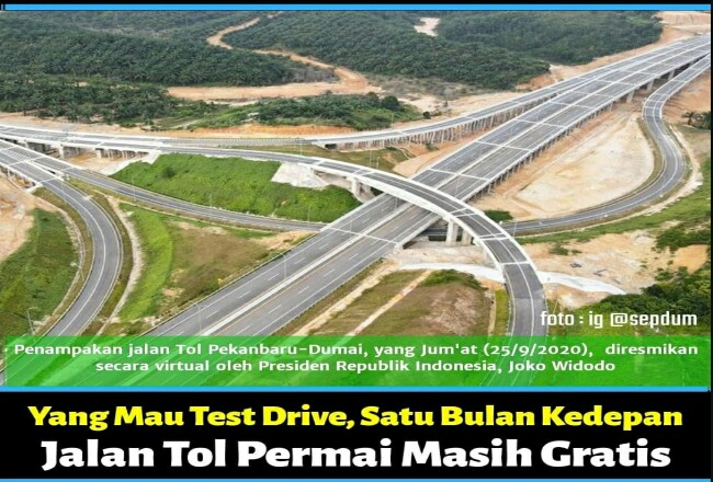 Jalan Tol Pekanbaru-Dumai