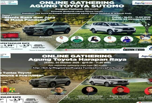 Online Gathering Agung Toyota.