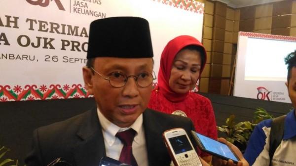 Kepala OJK Riau, Yusri
