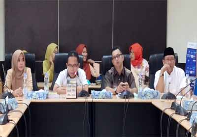 Rapat terakhir Komisi I DPRD Inhil.