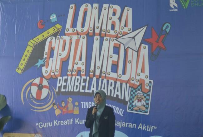 KOMED  mengadakan Lomba Cipta Media Pembelajaran Nasional yang dilaksanakan pada Sabtu (16/11) di Lembaga Pengembangan Insani (LPI) Dompet Dhuafa Pendidikan.