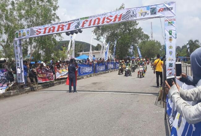 Kejuaraan Daerah Balap Motor Niqi Champion 2020.