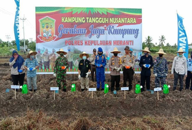 Polres Metanti canangkan Kampung Tangguh Nusantara.
