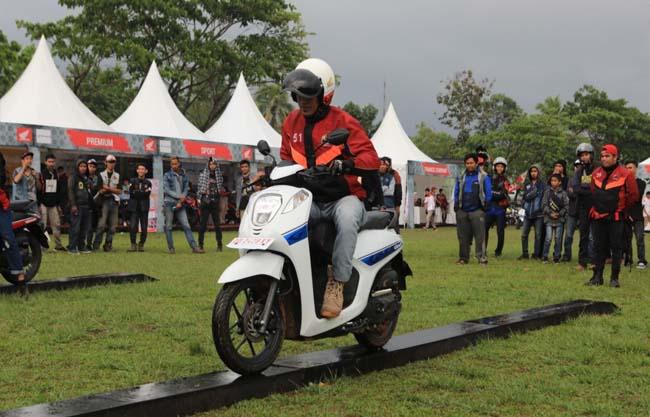 Suasana kemeriahan Honda Bikers Day (HBD) regional 2019 yang telah terlaksana di Sumatera, Kalimatan dan Sulawesi.