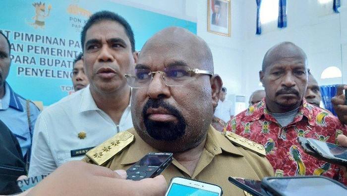 Gubernur Papua Lukas Enembe