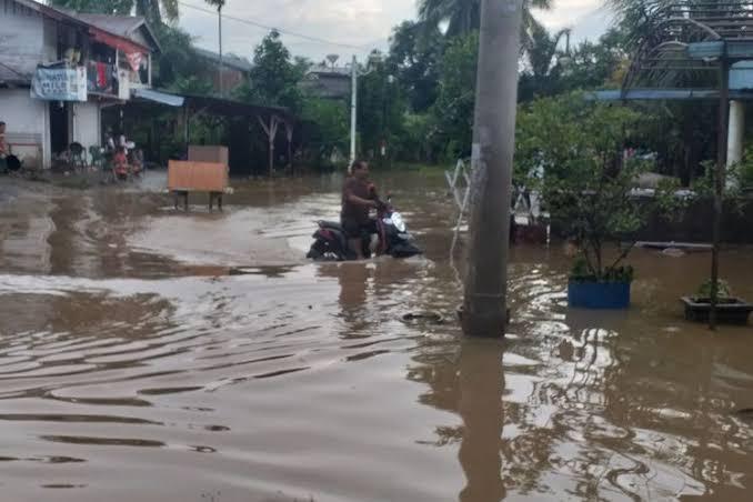 Banjir di Rohul.