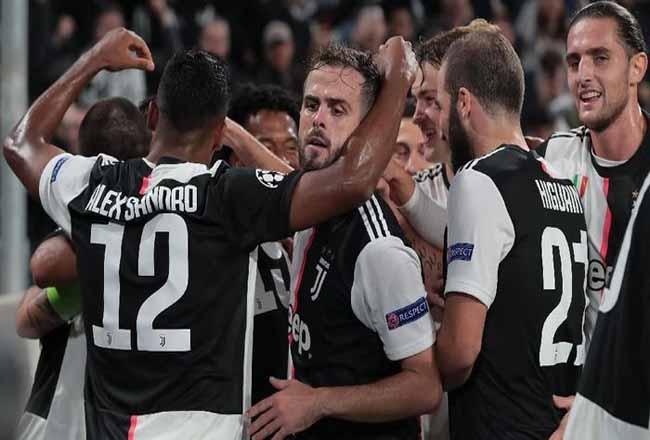 Juventus menang 2-1 atas Lokomotiv Moscow di matchday ketiga Liga Champions.