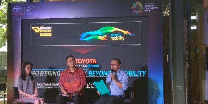 Toyota akan pamer 28 unit mobil terkini di GIIAS 2018