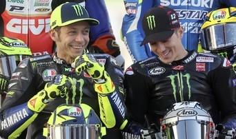 Vinales mengatakan Yamaha tak bisa bersaing dengan Ducati dan Honda. FOTO: AFP/Karim Jaafar