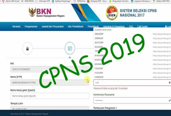 Situs SSCN BKN akan lakukan pemeliharaan.