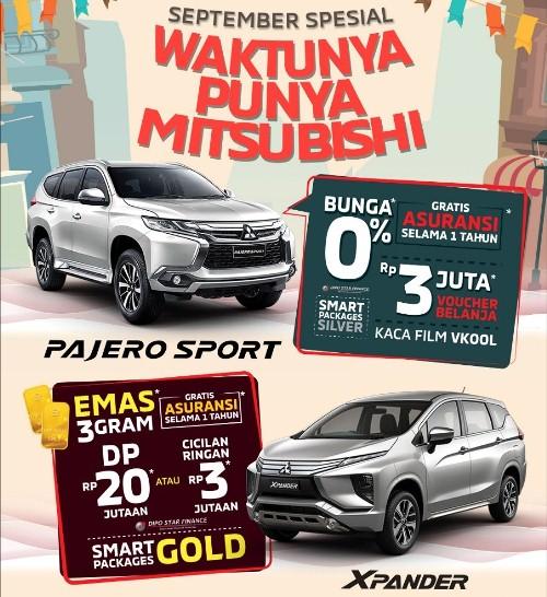 Ilustrasi promo Mitsubishi September