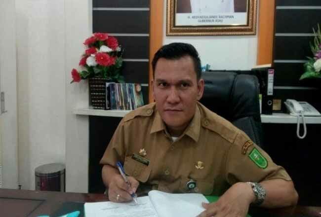 Kepala Dinas ESDM Indra Agus Lukman