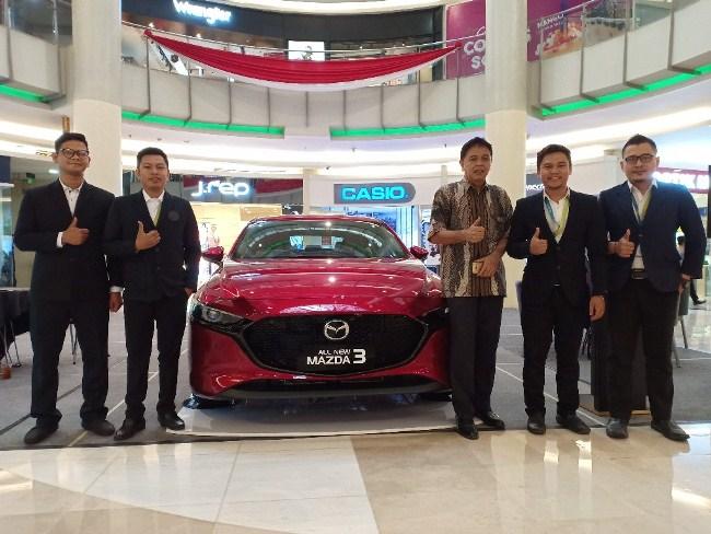 Launching All New Mazda 3 di Mal Ciputra Pekanbaru